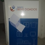 1 ano do Banco de Bens Doados | 2008